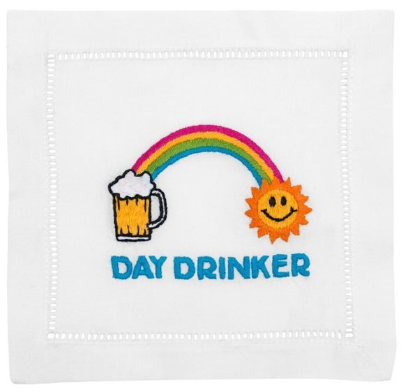 August Morgan Day Drinker Cocktail Napkins