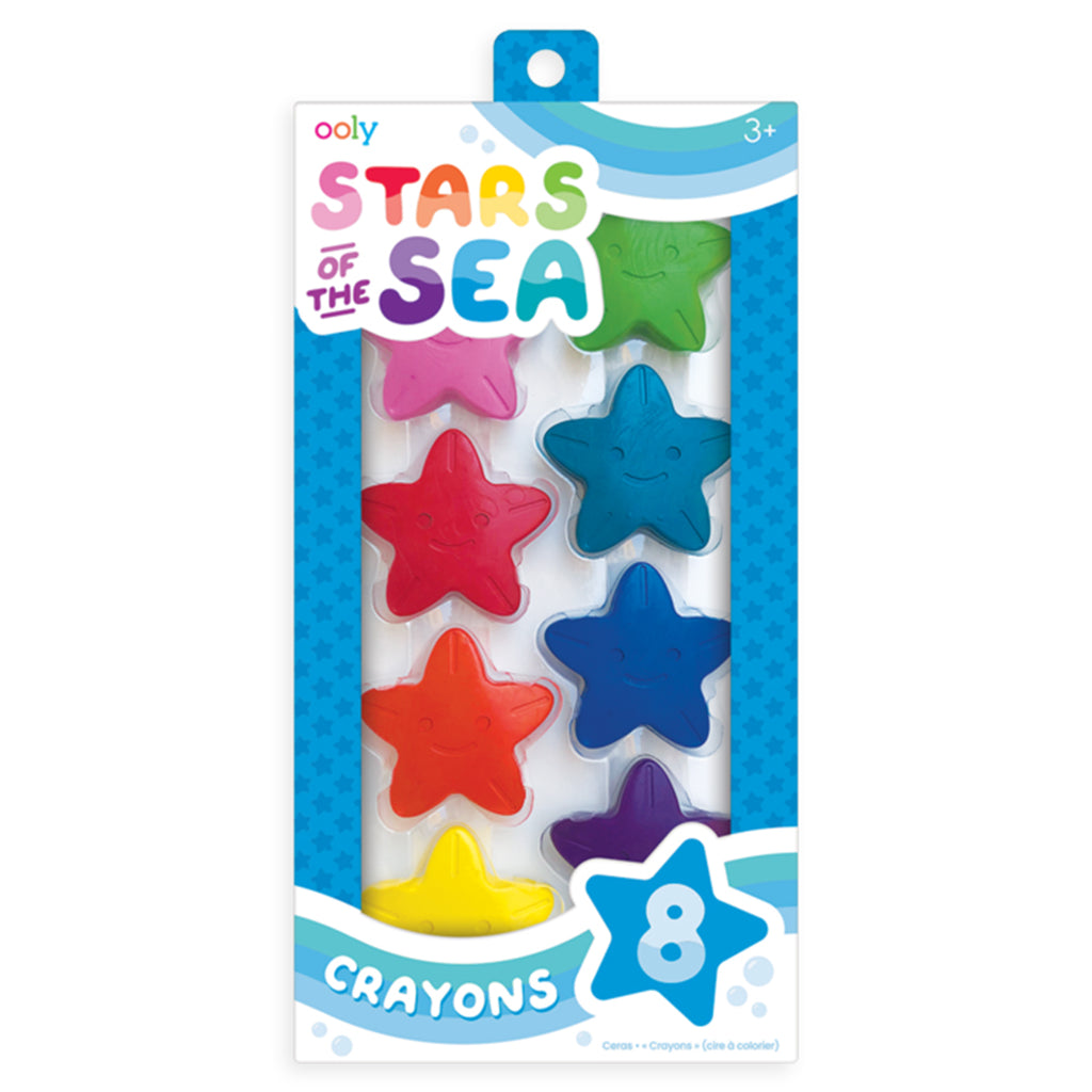 Stars of the Sea Starfish Crayons