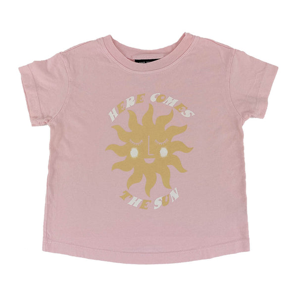 Here Comes the Sun Boxy Tee Desert Rose
