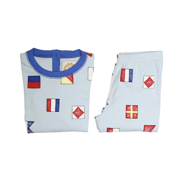 The Beaufort Bonnet Suttons Sweet Dream Set New Street Nautical Flags with Rockefeller Royal (unisex)