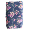 Muslin Swaddle - Wildflower Navy