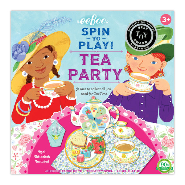 Tea Party Game Spinner Game