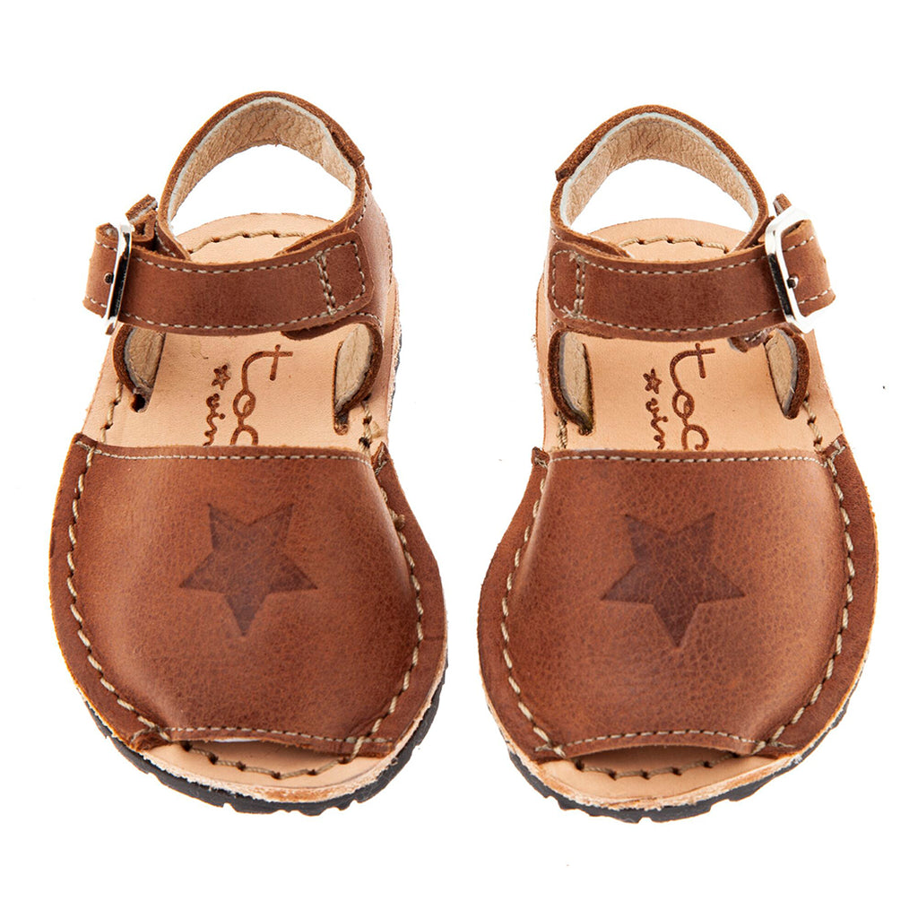 Menorcan Sandals Brown