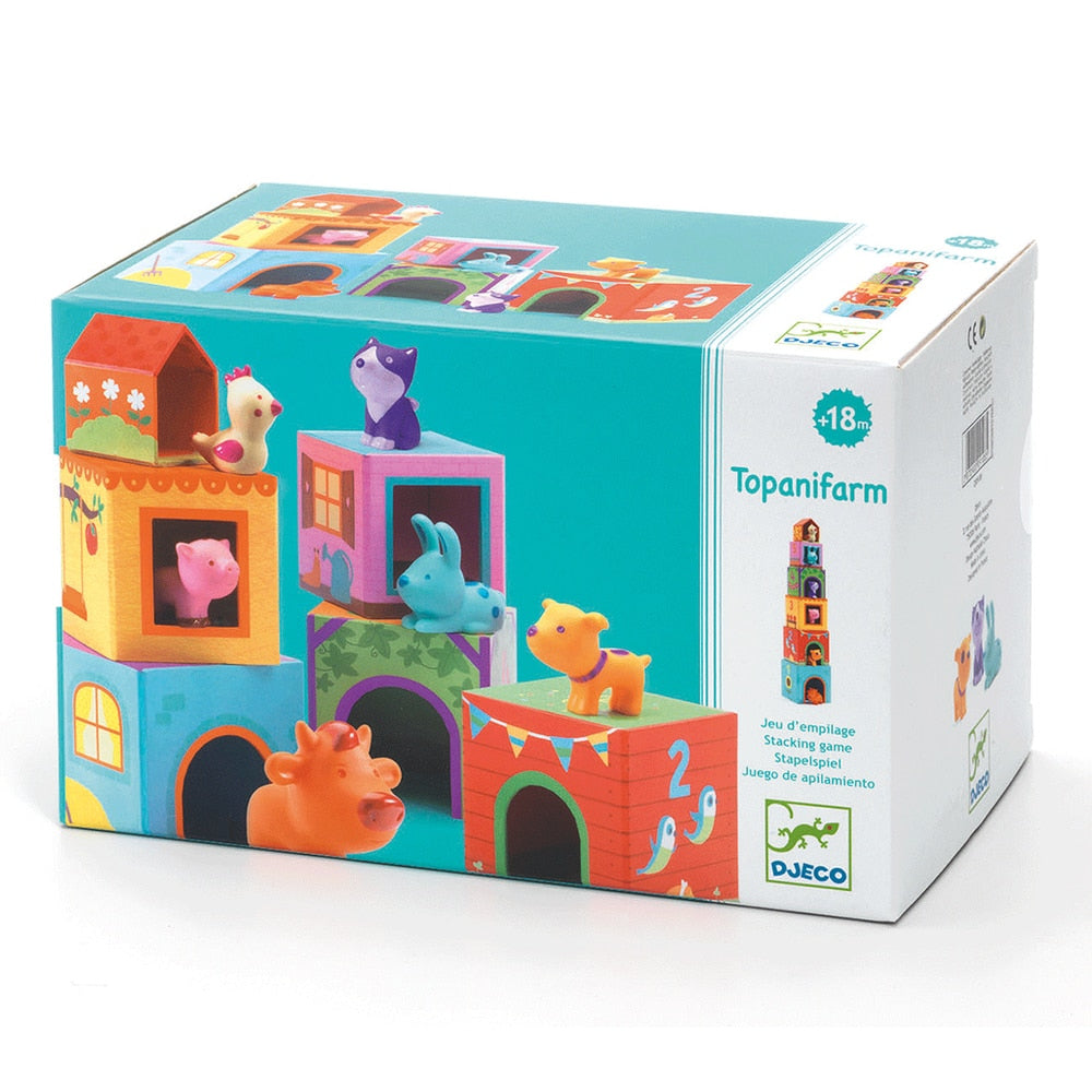 Djeco Blocks & Towers, Topanifarm