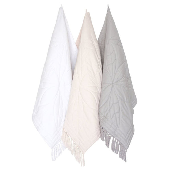 Bonne Mere Baby/Toddler Bath Towel Dove