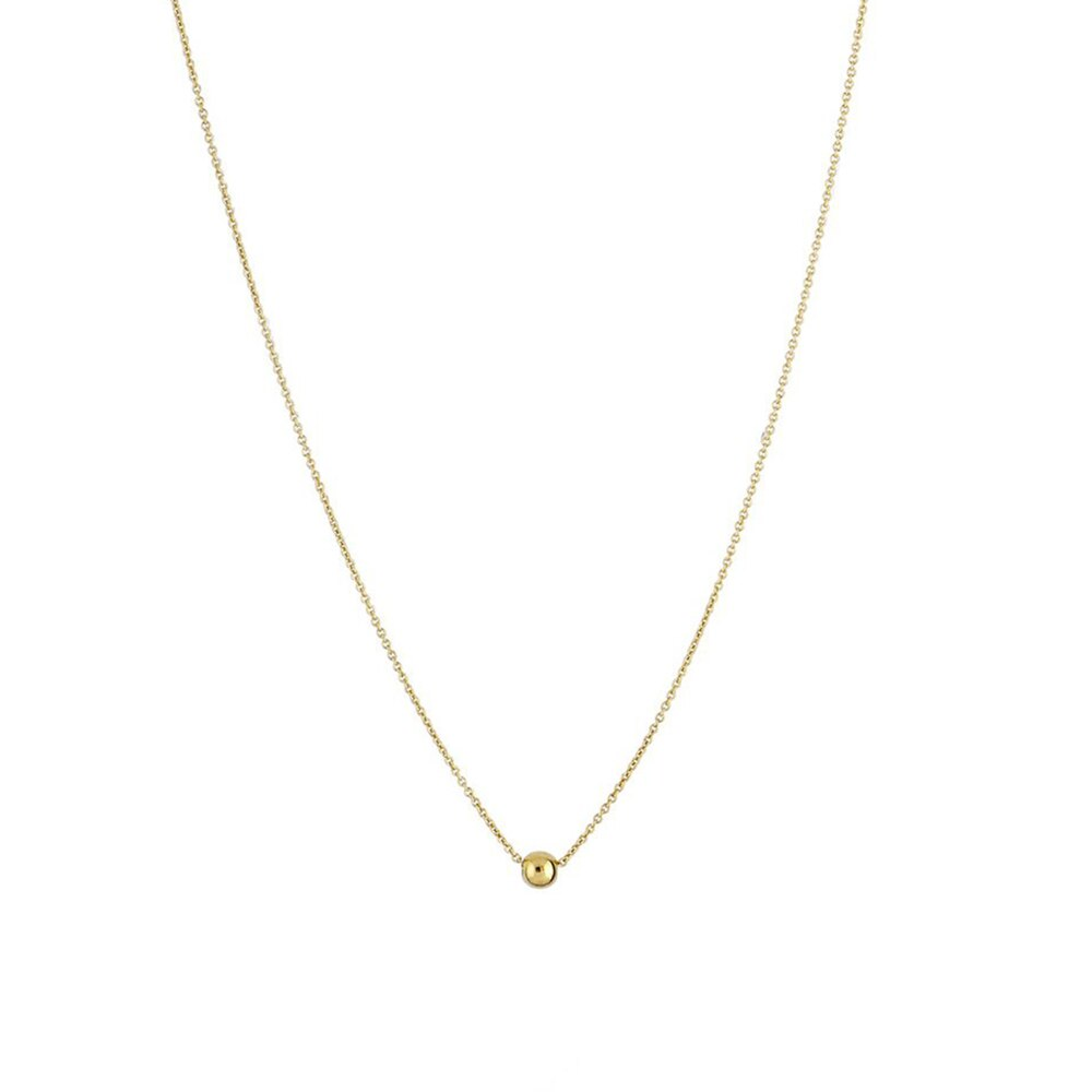 Trois Petits Points Ring Gold Necklace #2