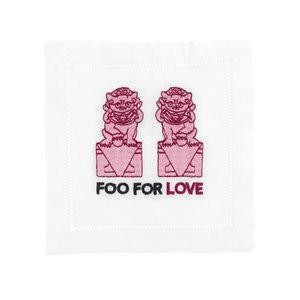 August Morgan Foo For Love  Cocktail Napkins