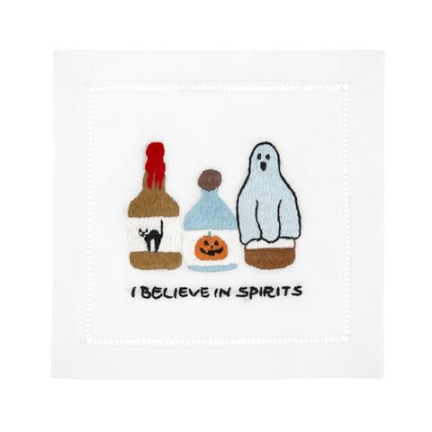 I Believe in Spirits Cocktail Napkins