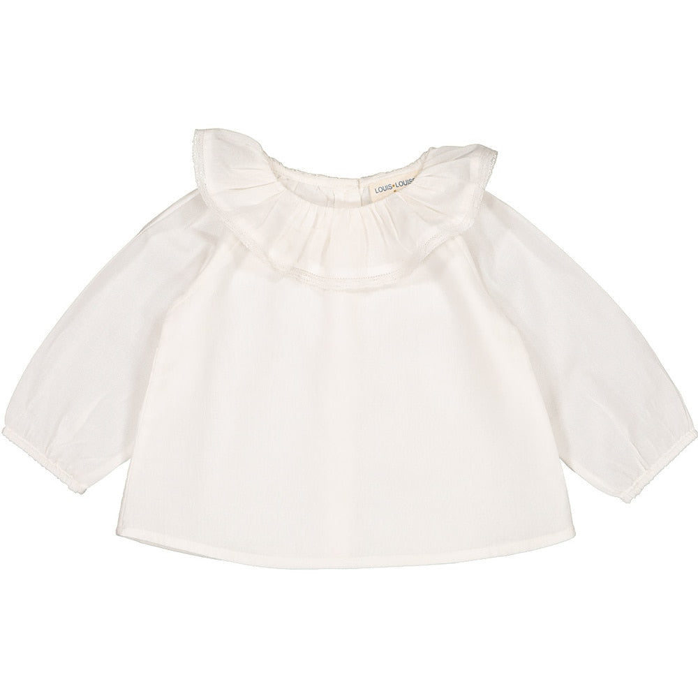Louis Louise Lilou Baby Tunic, Off White