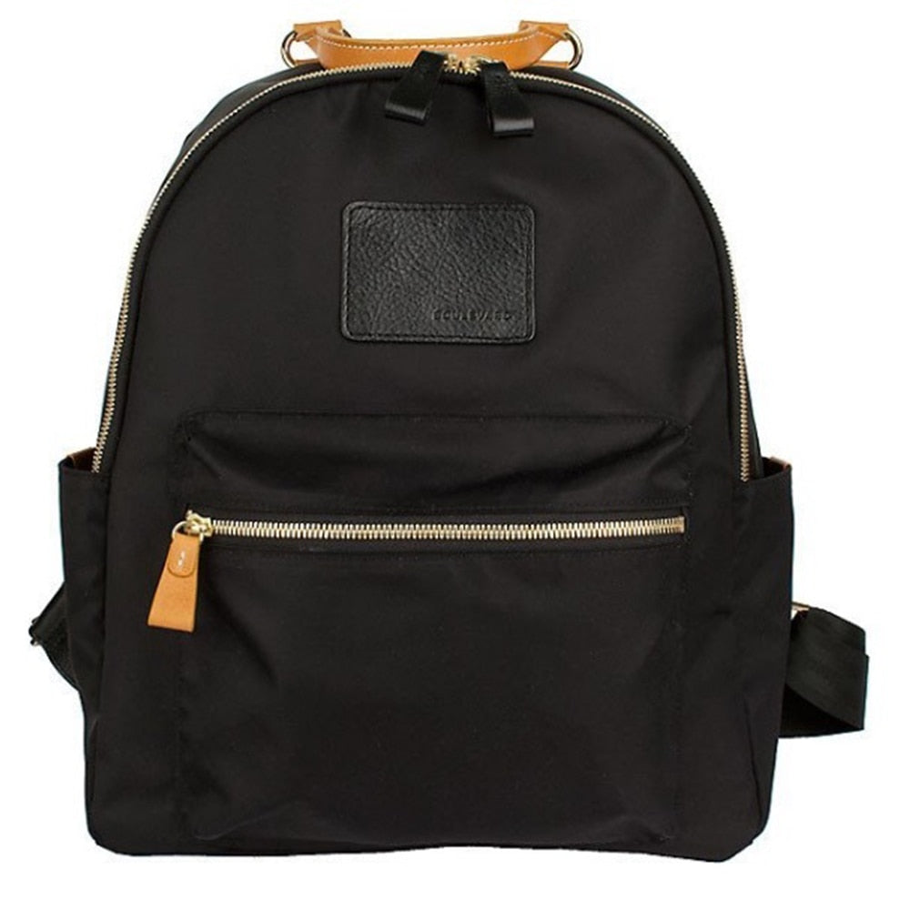 Boulevard Brandy Nylon and Leather Backpack