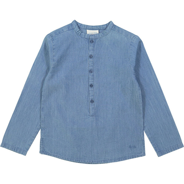 Louis Louise Grand Pere Shirt, Chambray Blue