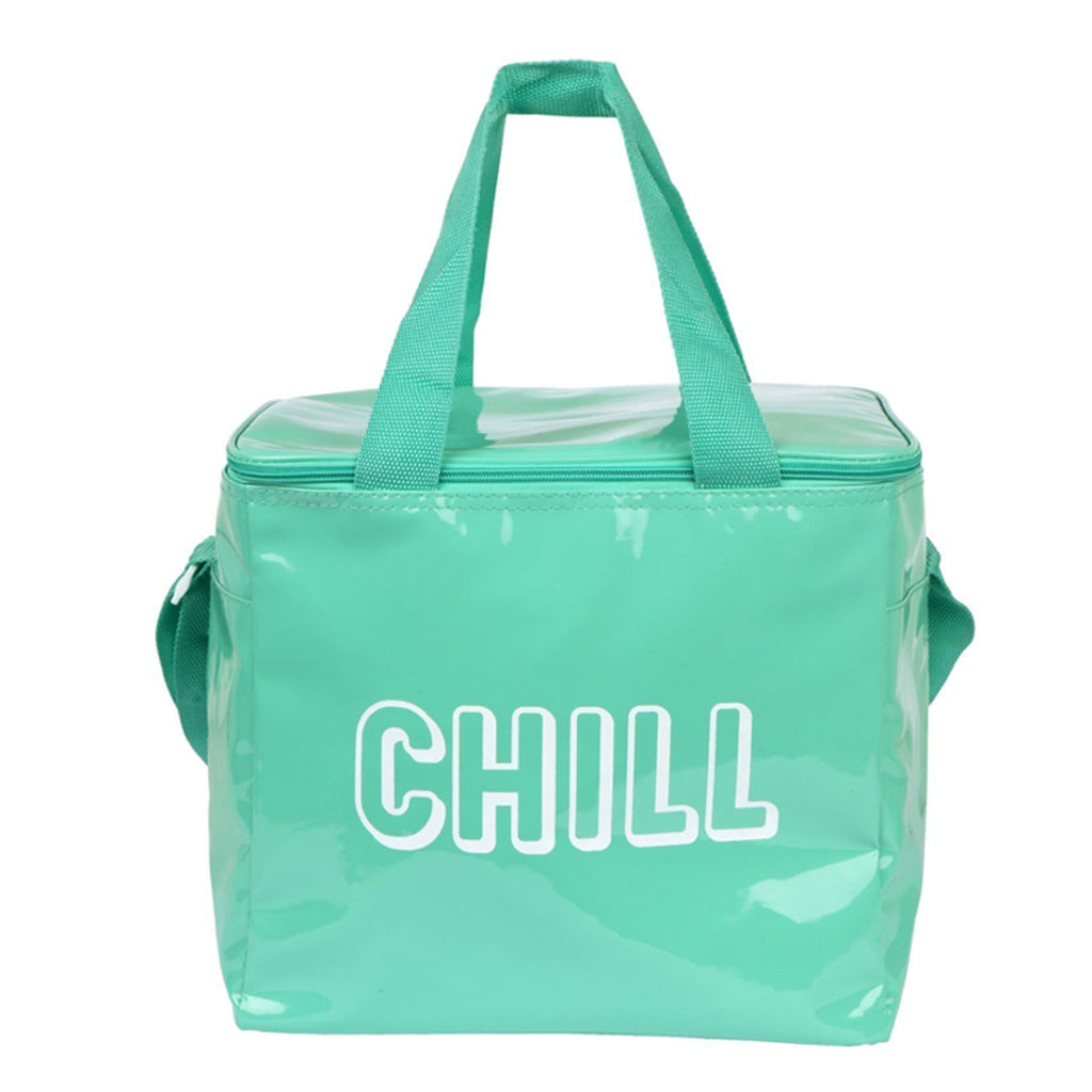 Chill Cooler Bag Neon Turquoise
