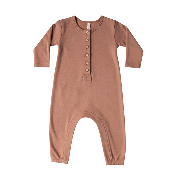 Long Sleeve Jumpsuit Clay