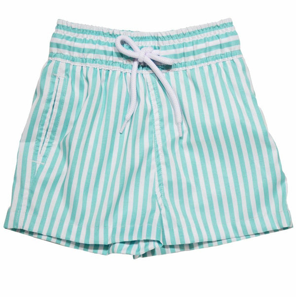 Dondolo Thomas Swimsuit Aqua Stripe