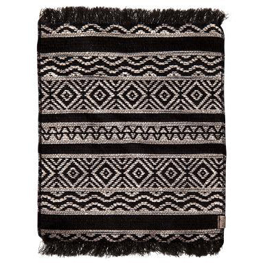 Miniature Rug, Black