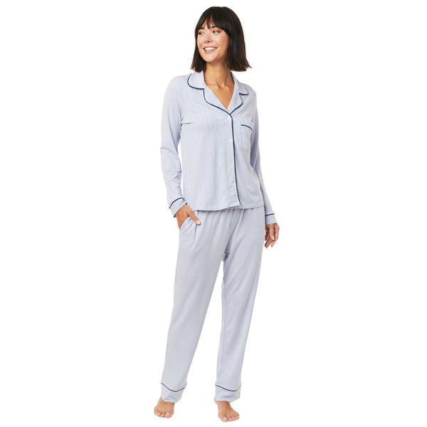 Simple Stripe Pima Knit Pajama