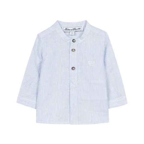 Long Sleeve Shirt Light Blue