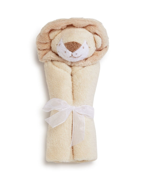 Angel Dear Lion Blankie with Monogram