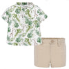 Shorts/Shirt Set Sand