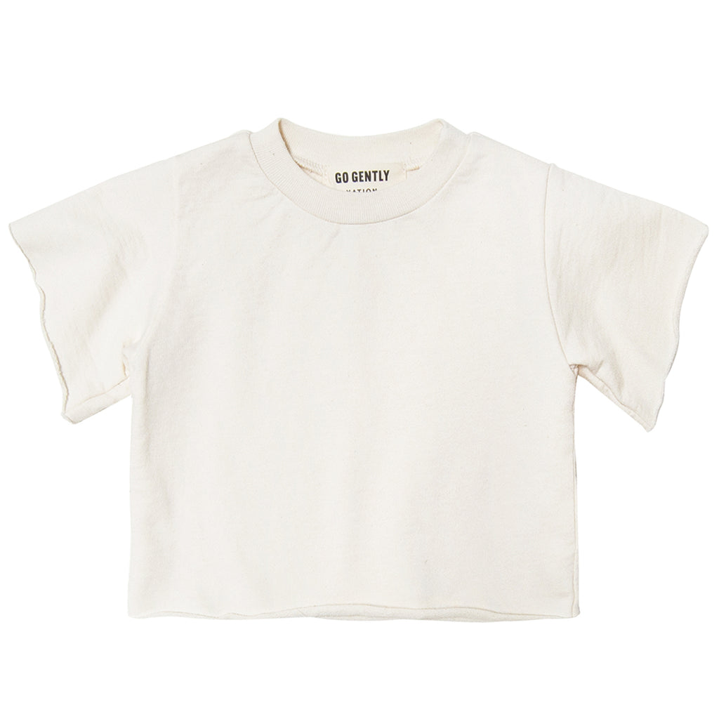 French Terry Tee Natural