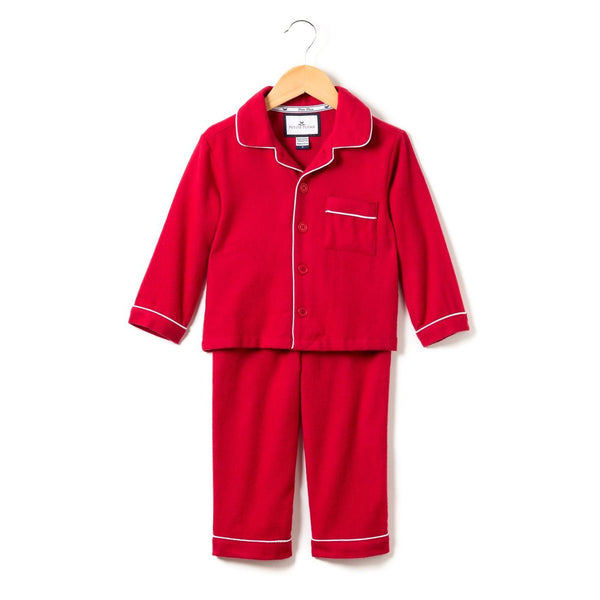 Classic Pajama Set, Red