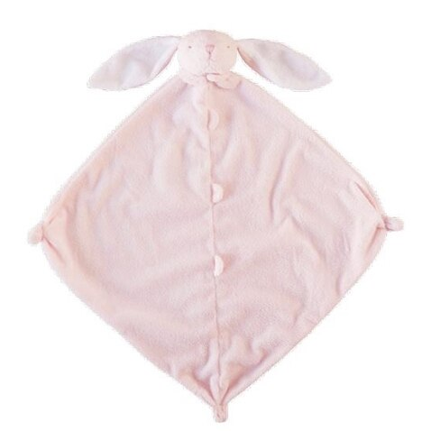 Angel Dear Pink Bunny Blankie with Monogram