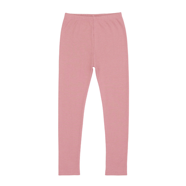 Ribbed Legging Antique Rose