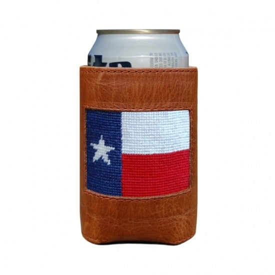 Samthers & Branson Texas Flag Coozie