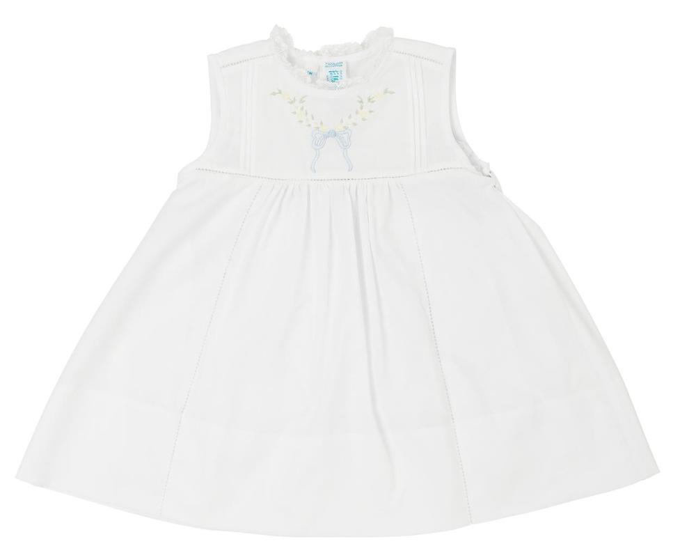 Feltman Brothers Leaf Bow Collection Sleeveless Dress, 3 month