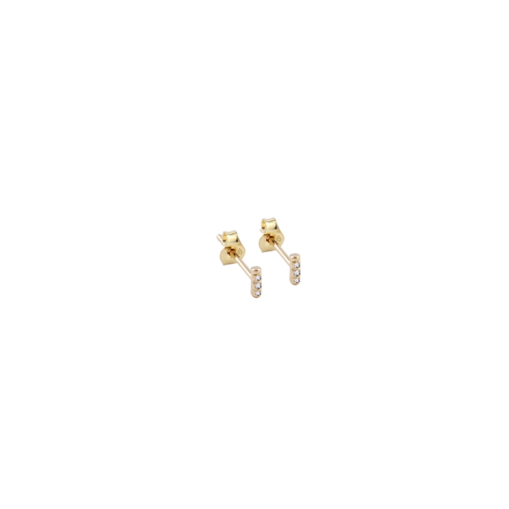 Trois Petits Points Unity Gold Earrings