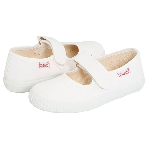 Cienta Mary Jane Shoe, White