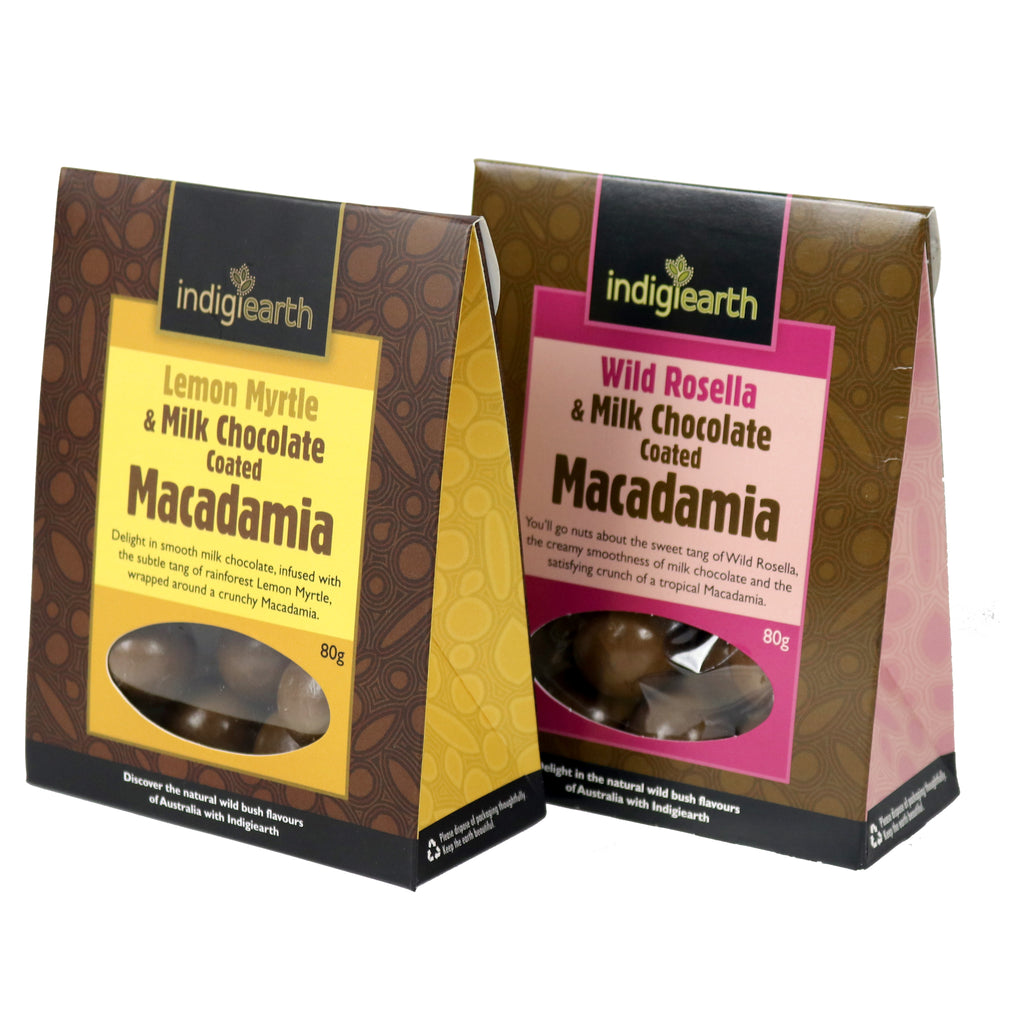 Milk Chocolate Coated Macadamia's