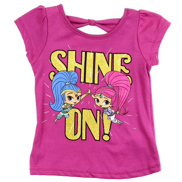 Pink SHIMMER & SHINE Girls Toddler T-Shirt