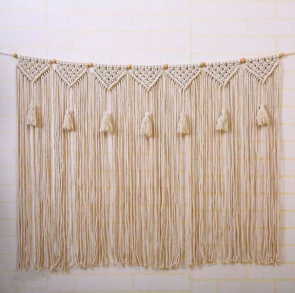 ***LIMITED STOCK*** Large Wall Macrame