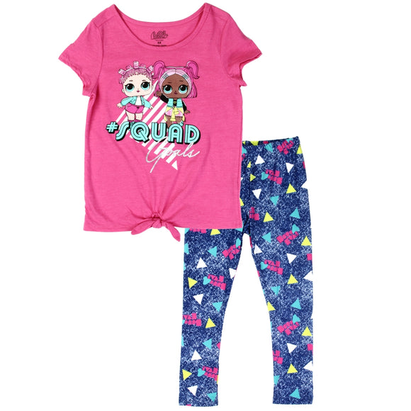 LOL SURPRISE Girls  2PC Legging Set