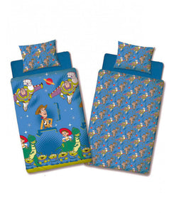 Toy Story Friends Single Duvet Cover and Pillowcase Set