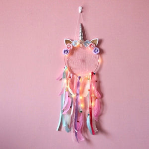 LED Large Unicorn Dreamcatcher