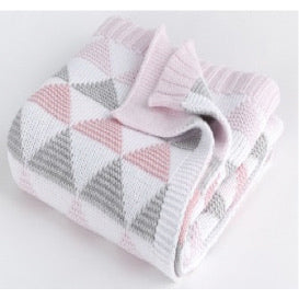 100% Cotton Cot Blanket