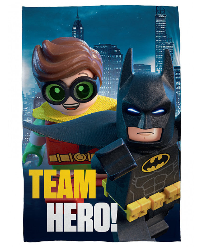 Lego Batman Movie Hero Blanket