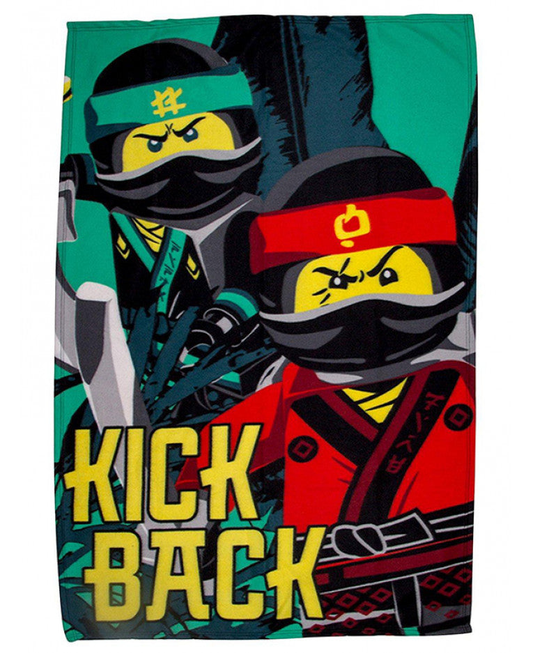 Lego Ninjago Movie Jungle Blanket
