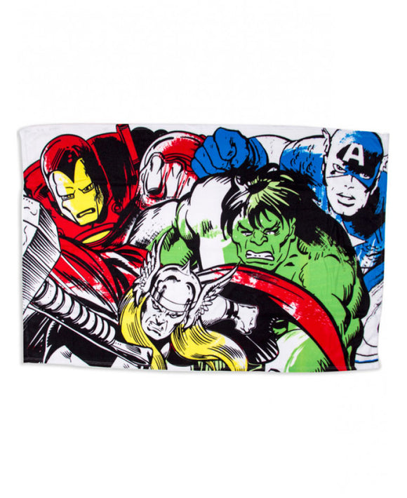 Marvel Comics Crop Panel Fleece Blanket