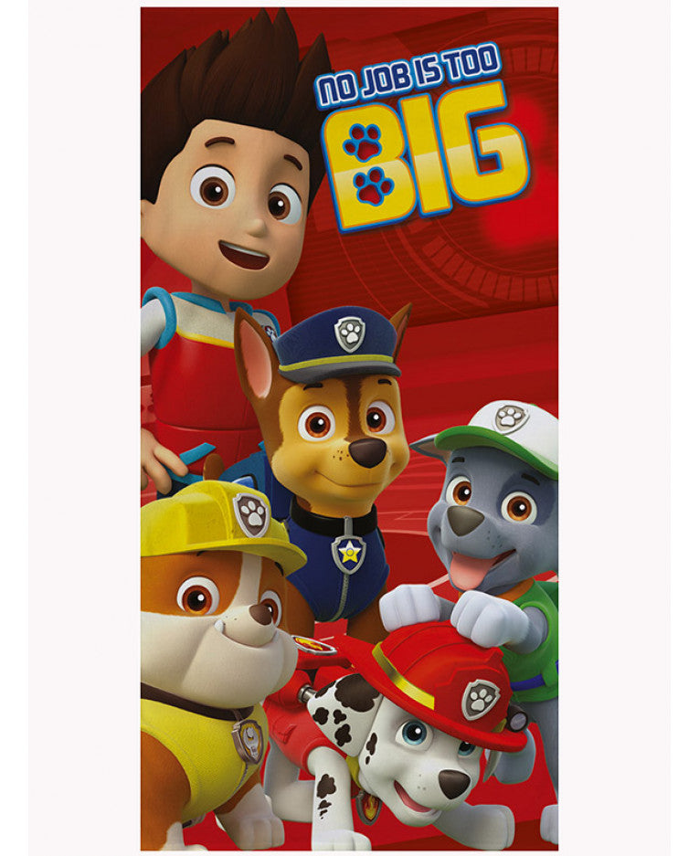 Paw Patrol (No Job is Too Big) Towel