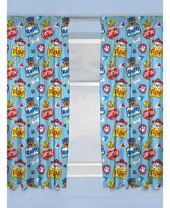 Paw Patrol Peek Curtains 72in Drop