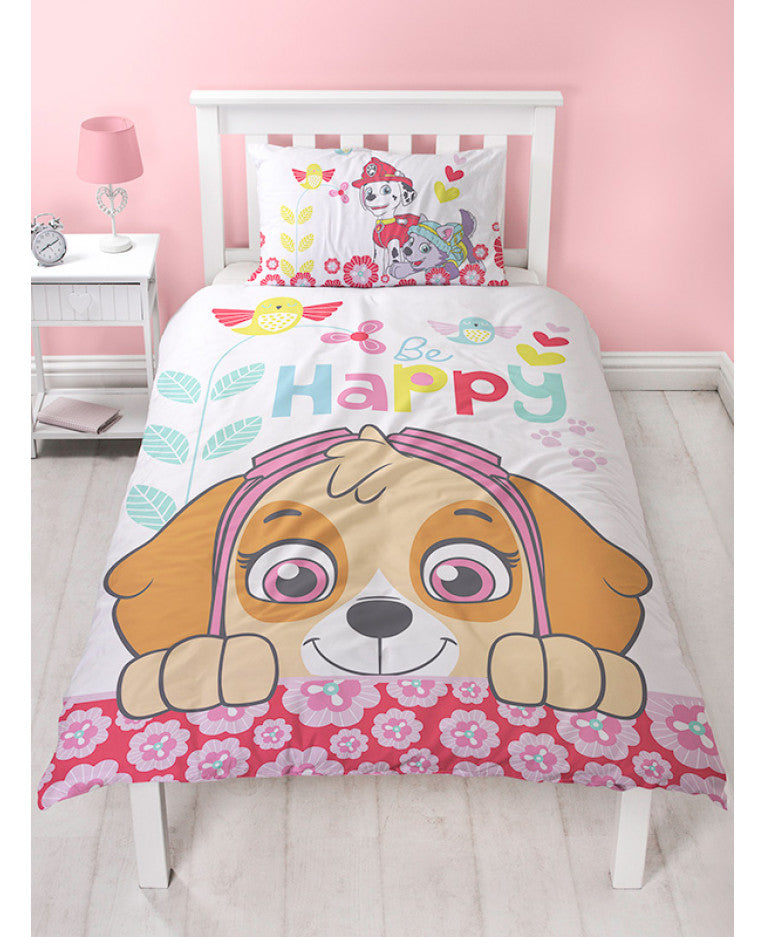 Paw Patrol Single Panel Duvet Set
