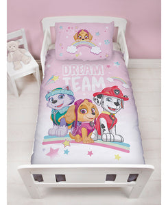 Paw Patrol Toddler Bed Set