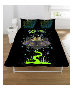 ***LIMITED STOCK***  Rick and Morty Double/Queen Duvet Cover and Pillowcase Set