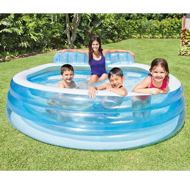 Piscina Familiar Lounge Pool 590L Azul 57190 Intex