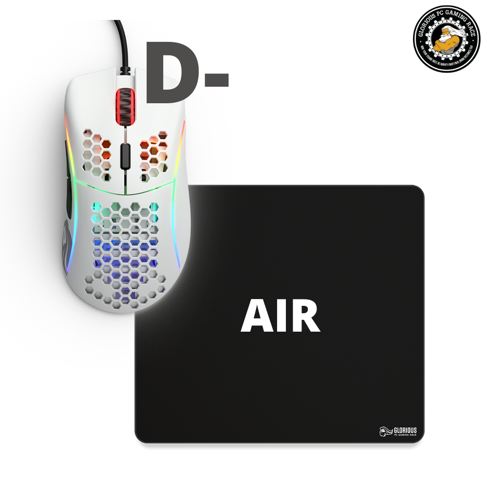 באנדל Model D- + MousePad Air