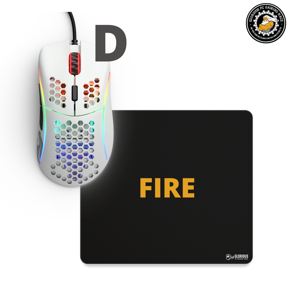 באנדל Model D + MousePad Fire