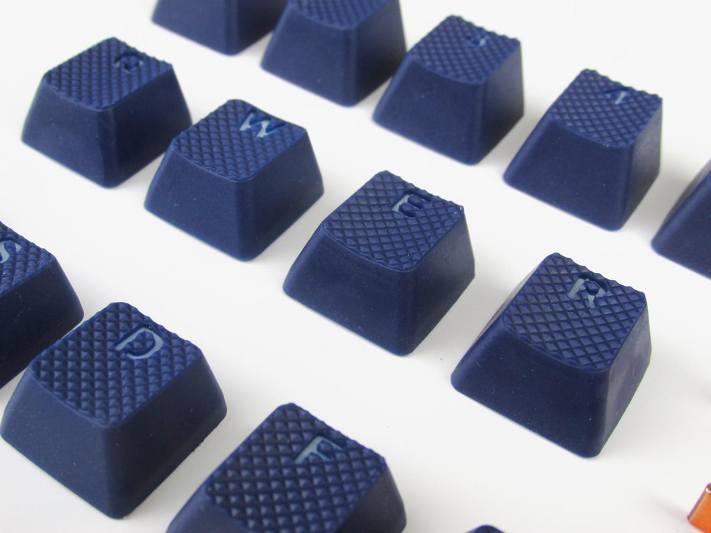 Tai Hao ABS Double shot keycap -18keys TPR BLUE